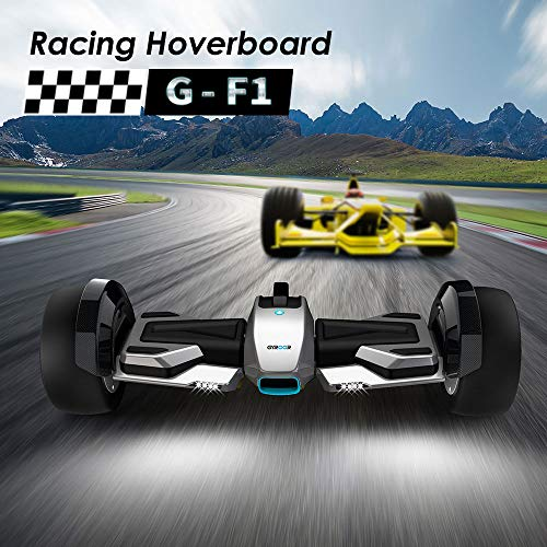 """Gyroor G-F1 Hoverboard,8.5"""" Off Road Hover Board with Bluetooth Speaker&LED Lights,Fastest Racing Self Balancing Scooter with App for Kids and Adult,UL2272 Certified"""
