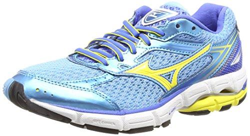 Mizuno Wave Connect 3 - Zapatillas de running Mujer, color azul - blue (blue grotto/buttercup/palace blue), talla 36.5 EU (4 UK)