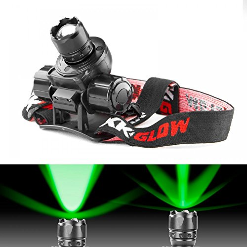 GREEN Spot and Flood Retractable Lens Heavy-duty CREE LED Headlight