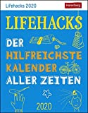 Lifehacks Wissenskalender. Tischkalender 2020. Tageskalendarium. Blockkalender. Format 11 x 14 cm - Harenberg