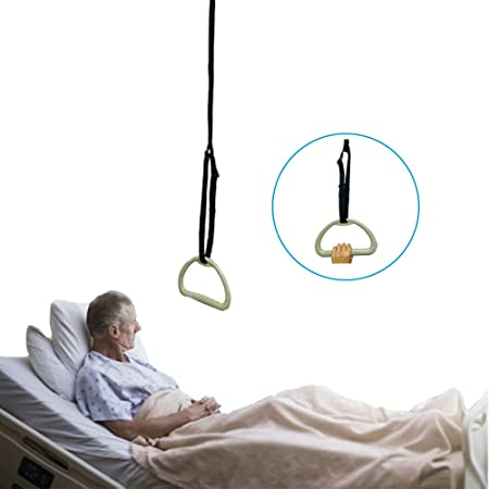 Amazon Com Bed Trapeze For Elderly Bed Pull Up Assist Hospital Bed Trapeze For Bed Mobility Transfer Ceiling Mounted Bar Trapeze Stand Ladder Bed Helper For Disabled Kitchen Dining