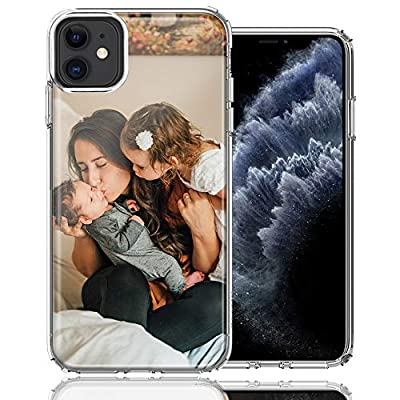MUNDAZE Design Your Own iPhone Case, Personalized Photo Phone case for Apple iPhone 11 Custom Case (iPhone 11 Only)