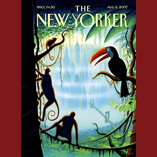 The New Yorker (August 6, 2007) audiobook cover art