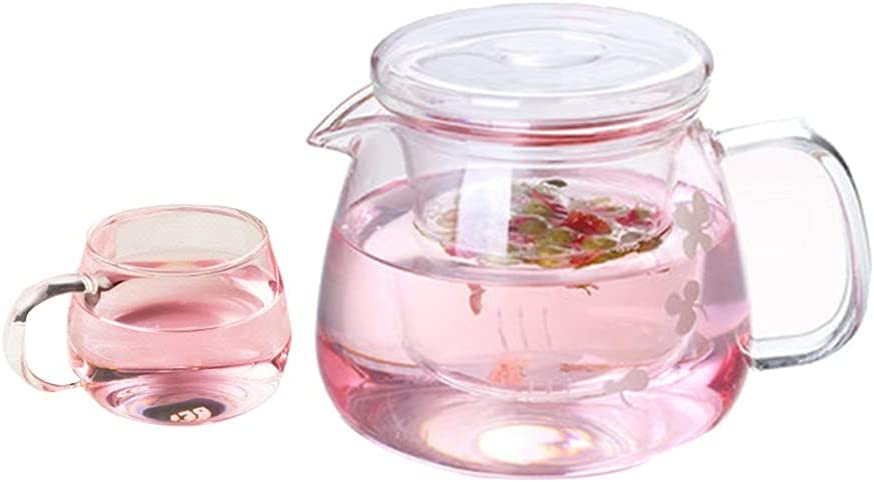 Teapots Glass teapot set Heat resistant brewing tea Great interest glass Boston Mall