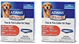 Adams (2 Pack) Flea & Tick Collar for Dogs, Size Large