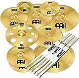 Meinl Cymbals HCS-SCS1 Ultimate Cymbal Set Beckenset 9 teilig