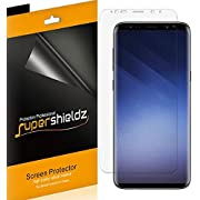 [2-Pack] Supershieldz for Samsung (Galaxy S9 Plus) Screen Protector, [Full Coverage] High Definition Clear Shield + Lifetime Replacement