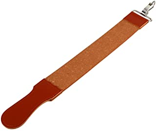 Leather Razor Strop, Genuine Leather Shaving Sharpener Sharpening Belt Paddle Strop Double Sided for Razor Folding Knife S...