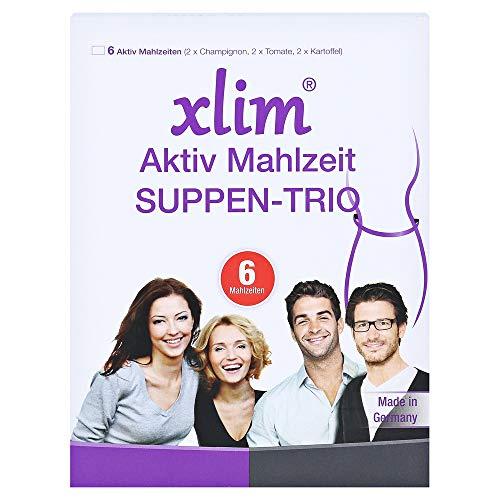xlim aktiv Mahlzeit Suppen-Trio Pulver, 6 St. Beutel