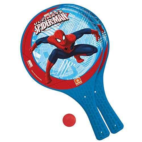 Marvel Mondo Spiderman Jeu de Batte de Paddle avec Balle