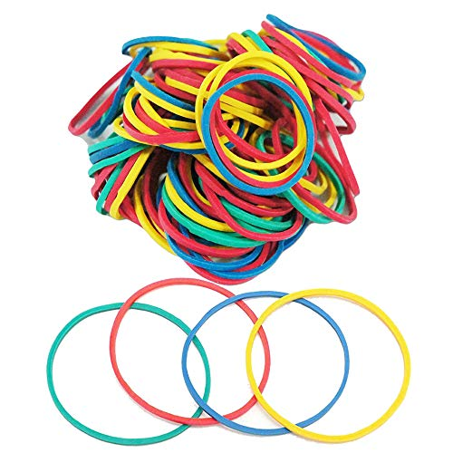 Tattoo Rubber Bands - Anghie 300PCS Colorful Rubber Loop Elastic Professional Silicone Rubber Tattoo Accessories for Coil Machine Gun Tubes Needles Tip Supply