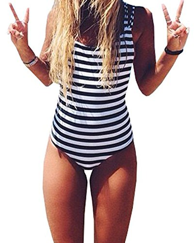 Juniors' One-Piece Swimsuits