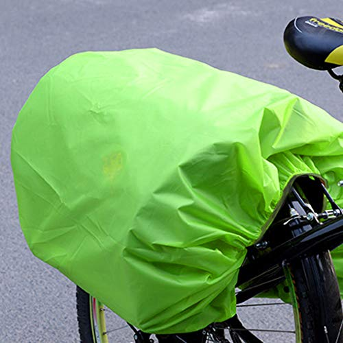 Guangcailun Parrilla Trasera Equipaje de la Bici Volver Pannier Lluvia a Prueba de Polvo Bolsa de la Lluvia Protector de Ciclo de accesor