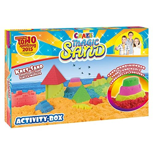 CRAZE Magic Sand, Mega Set di Gioco