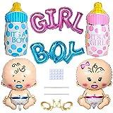 Yijunmca Juego de globos 6 globos para bebés y niños con forma globo látex...