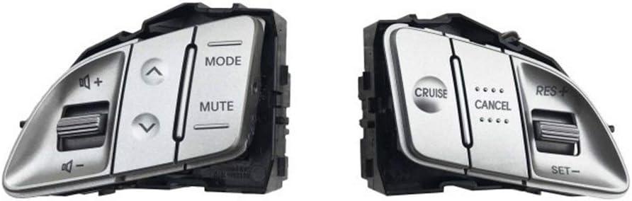 ZXC Multifunktions-Lenkrad-Taste Lautst/ärkeregelung Cruise Feste Geschwindigkeit Fit for Hyundai Tucson IX35 2010 2011 2012 2013 2014 96700 Color : 1