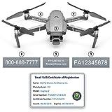 Mavic 2 Pro   Zoom Drone - FAA ID Bundle - Labels (3 Sets of 3) + FAA...