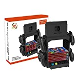 ForBEST Nintendo Switch Multi-Function Storage Bracket, Tower Holder Stand Shelf for Switch Game Disc Card Switch Console Host Switch Controller Switch Accessories