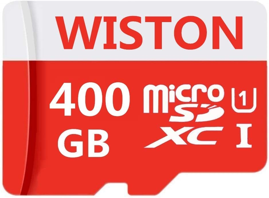 400GB Micro SD Card High Speed Class 10 SDXC Card with SD Adapter, Designed for Android Smartphones, Tablets and Others