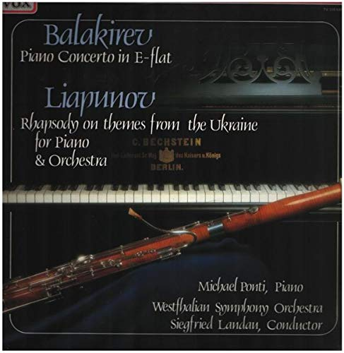 Piano Concerto In E-Flat / Rhapsody On Themes From The Ukraine For Piano & Orchestra [Vinyl LP]