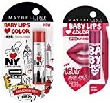 Maybelline Baby Lips Alia Loves New York, Broadway Red, 4g And Maybelline New