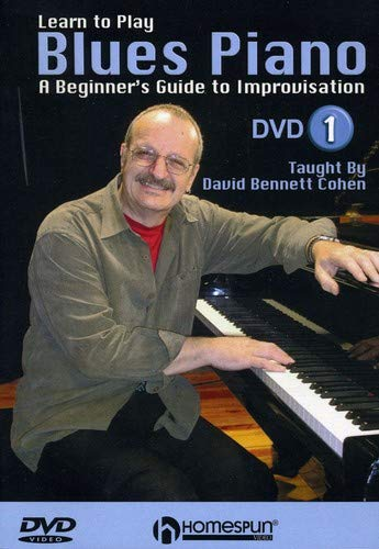 Learn To Play Blues Piano: A Beginner'S Guide To Improvisation - Dvd 1 [UK Import]
