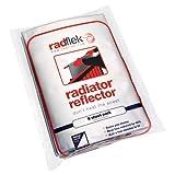 Radflek - Reflectores para radiadores con 8 hojas y 8 tiras adhesivas reflectantes, para 8-16 radiadores