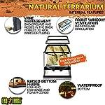 Exoterra Terrarium en Verre pour Reptiles et Amphibiens 30 x 30 x 30 cm #3