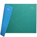WORKLION 24' x 36' Large Self Healing PVC Cutting Mat, Double Sided, Gridded Rotary Cutting Board for Craft,...