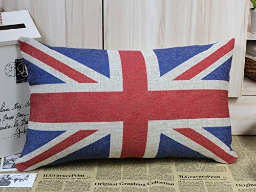 Ericcay UK Flag Union Jack Sherlock Holmes Movie Puntelli Cuscino Unico Divano Sedia Sedile Cuscino (50Cm * 30Cm) (Color : Colour, Size : Size)