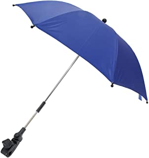 Baby Carriages Umbrella, Sttech1 Wheelchair Pushchair Baby Stroller Umbrella and Holder Parasol UV Rays Rain Sun Canopy Sun Shadow Shade Baby Cart Umbrella (Blue)