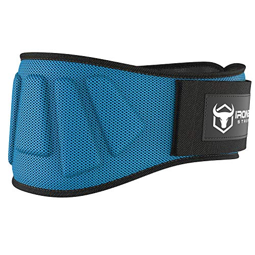 Iron bull strength weight lifting belt for cross-training image
