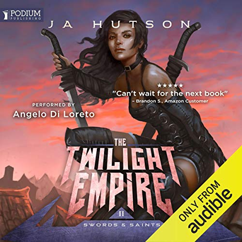 The Twilight Empire audiobook cover art