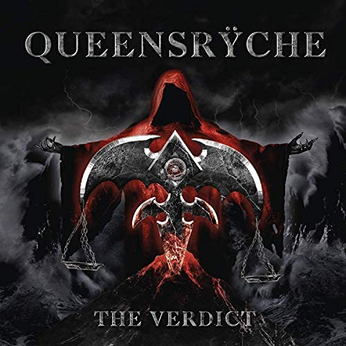 Official - Queensryche (The Verdict) 2020 Album Cover Poster – Leinwand (61 x 61 cm)