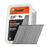 Paslode, Finishing Nail, 20 Degree Angled Galvanized, 16 Gauge, 2,000 per Box, 2 1/2 inch