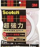 3M スコッチ超強力両面テーププレミアゴールドスーパー多用途 SPS-25