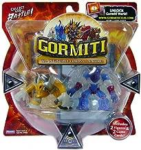 Gormiti Series 1 Action Figure 2-Pack Mole the Holedigger and Solitary Eagle (Random Colors)