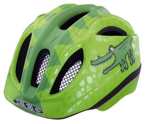 KED Fahrradhelm Meggy Reptile, Green Croco, 46-51 cm, 15409260S