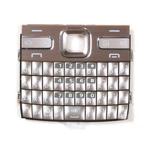 xiaowandou Riparazione per Il Tuo Telefono IPartsBuy Cellulare tastiere Custodia con Pulsanti di Menu/Premere Tasti for Nokia E72 Accessori per rinnovare (Color : Gold)