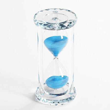 15//30//60 Min Crystal Diamond Hourglass Sand Clock Timer Glass Sandglass Xmas Gif