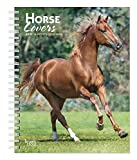 Horse Lovers 2020 6 x 7.75 Inch Weekly Engagement Calendar, Animals Horses