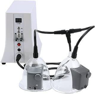 TOPQSC ión negativo instrumento de mejora mamaria cuidado de los senos masajeador presión negativa cuidado de la salud fisioterapia ahuecamiento raspado salud de mama