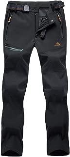 Men's Outdoor Hiking Pants Ski Pants Zipper Pockets