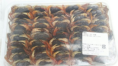 限定品 冷凍 沢蟹 ( 生 ) 50匹 加熱用 沢カニ 沢ガニ