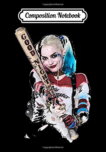 Composition Notebook: Suicide Squad Harley Quinn Bat at You, Journal 6 x...