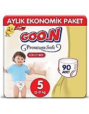 Goon Premium Külot Bebek Bezi 5 Beden 90 Adet