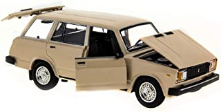VAZ-2104 Beige 1/24 Scale Lada Riva Soviet Station Wagon USSR 1984 Year Collectible Diecast Metal Model Car & Toy for Kids