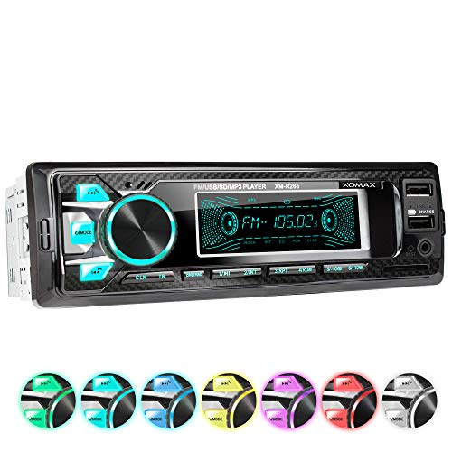 XOMAX XM-R265 Car stereo with Bl...