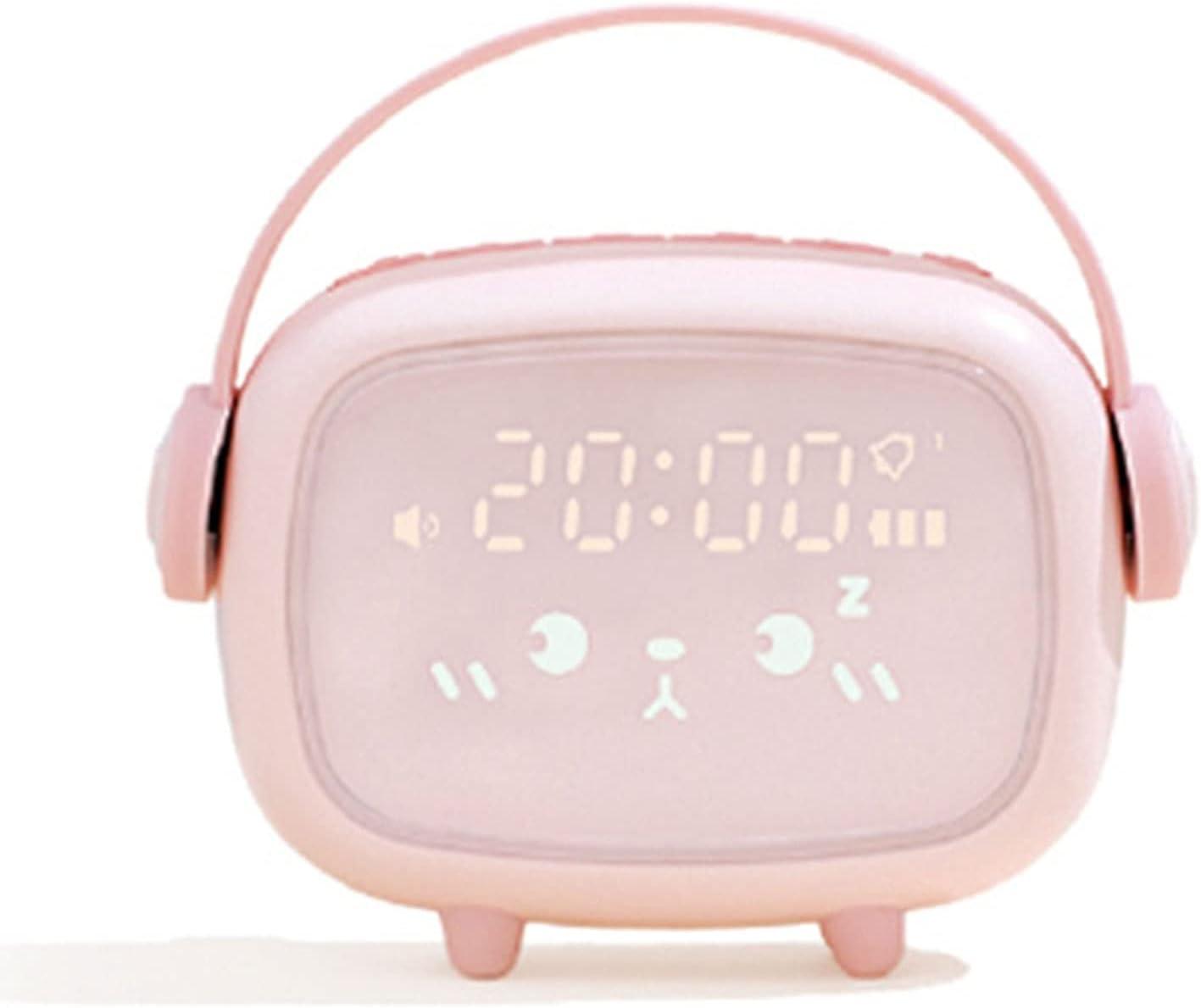 DUOWEI Brand new Creative Children's Music Electronic Under blast sales Mute Ala Clock Small