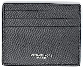 Michael Kors Mens Slim Leather Card Case Wallet